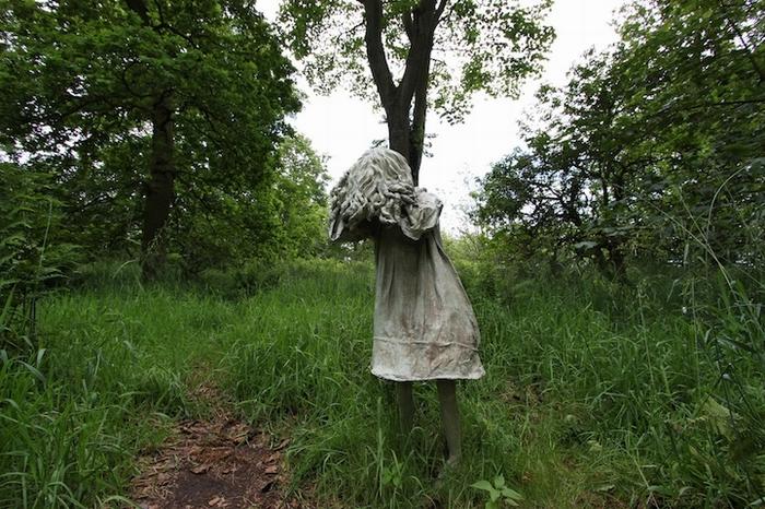 Скульптура в парке Jupiter Artland