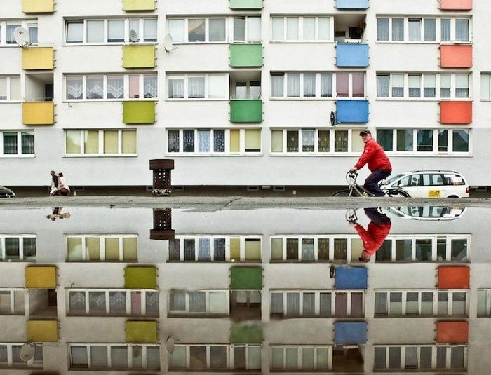 Геометрический Париж от Joanna Lemanska