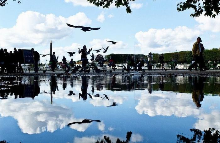 Зеркальный Париж