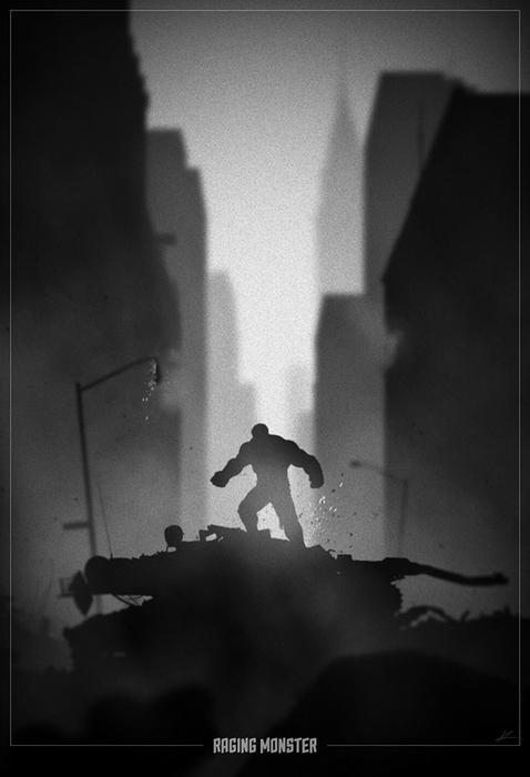 Халк. Рисунок Marko Manev