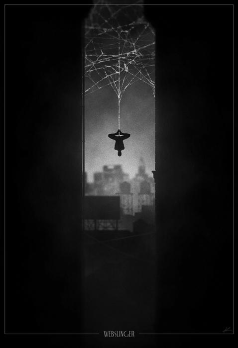 Человек-паук. Рисунок Marko Manev