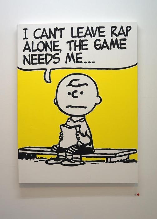 Чарли Браун не может оставить рэп