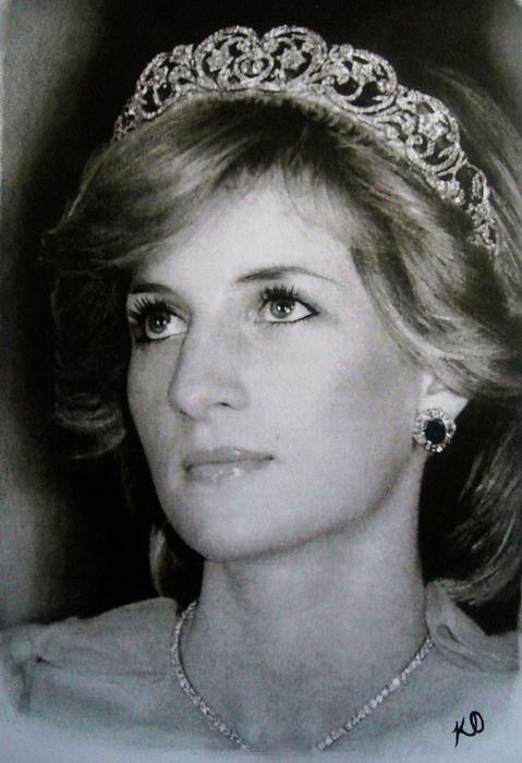 Портрет принцессы Дианы