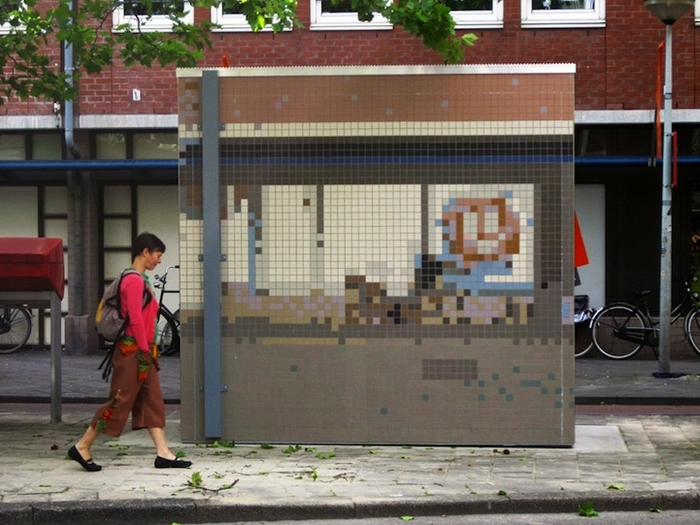 Одна из мозаик Roeland Otten