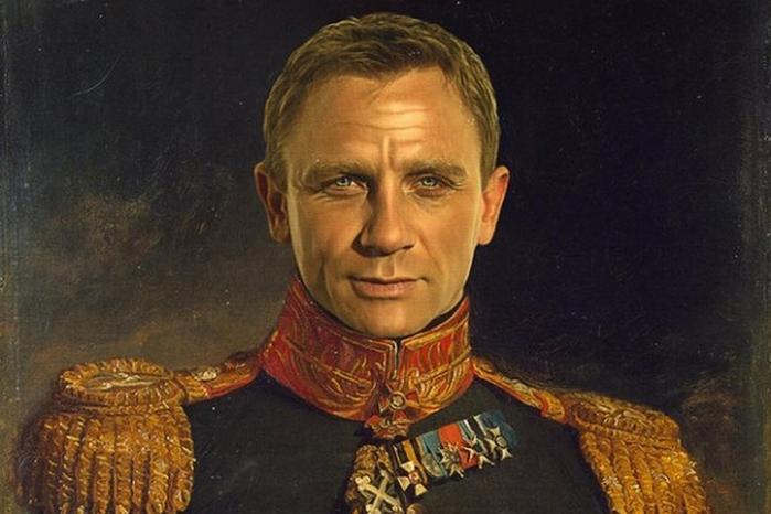 Меня зовут Бонд. Генерал Бонд