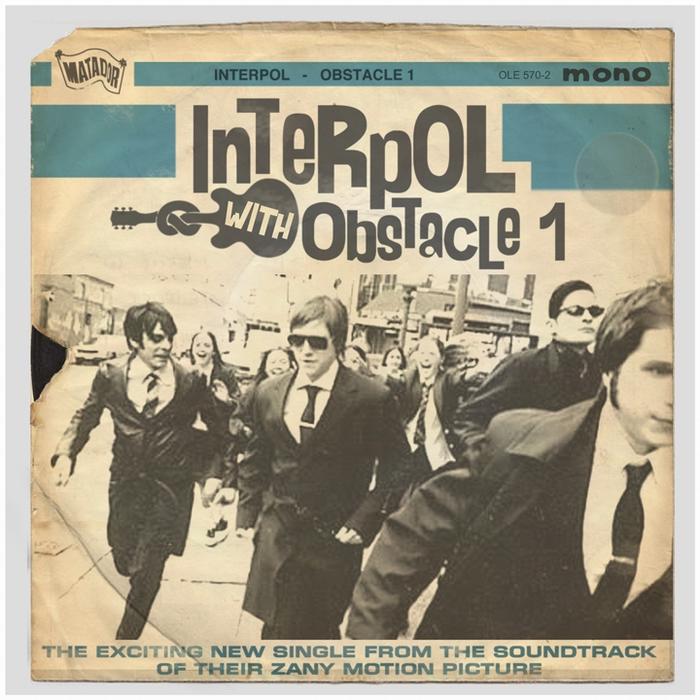 Обложка сингла Interpol от Robert Penney
