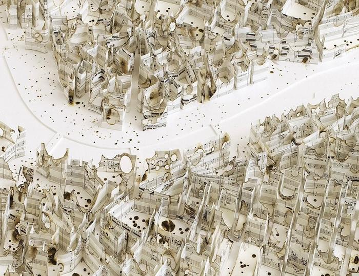 Дрезден в конце войны. Работа Matthew Picton