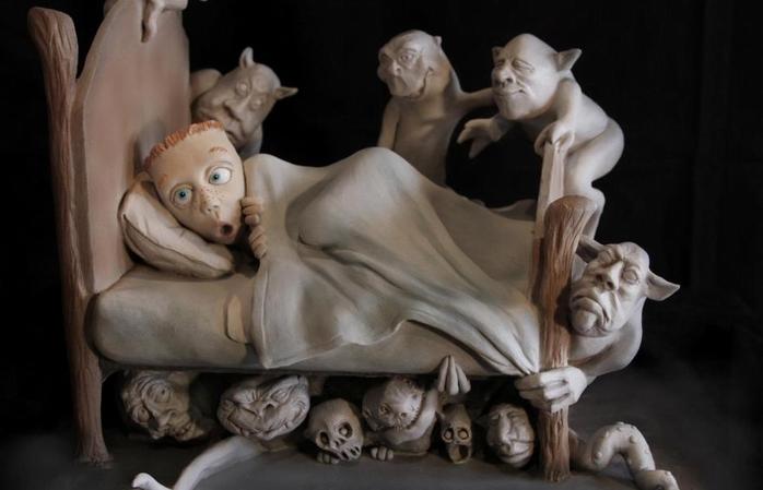 Скульптура работы Randy Hand