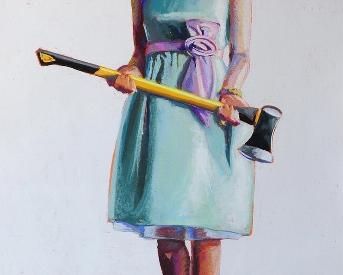 Cмертельно опасные девушки на картинах Kelly Reemtsen