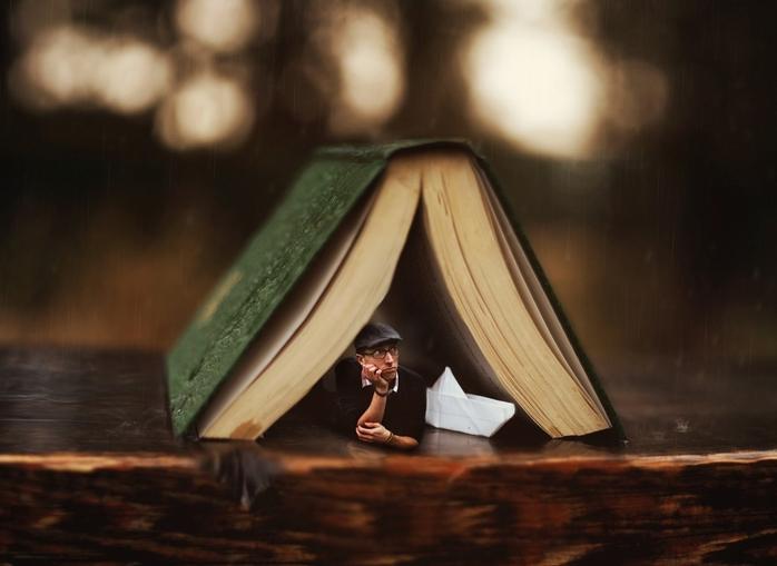 Рай библиофила по версии Joel Robinson