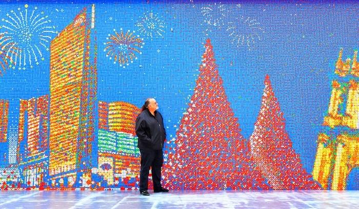 Фрагмент мозаики из города Макао