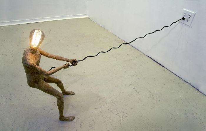 Инсталляция Stephen Shaheen