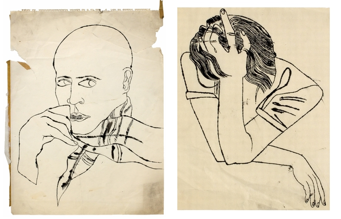Рисунки Энди Уорхола