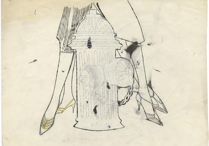 Безымянный рисунок. Ок. 1958 г.