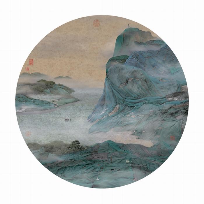 Один из новых пейзажей Яо Лю