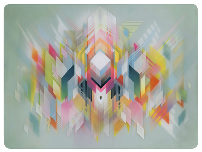 Геометрия необычных картин Francesco Lo Castro