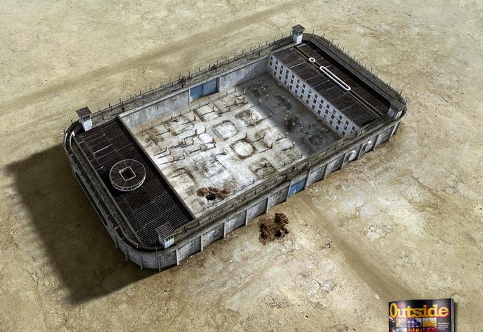 Серия работ «Тюрьмы»