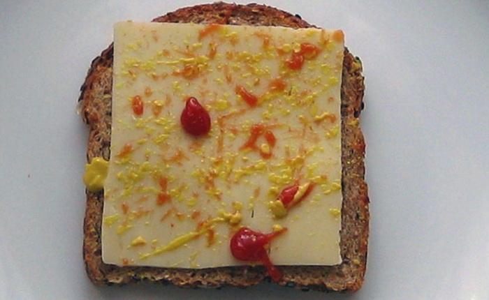 Серия «Sandwich Artist». Дань уважения Поллоку