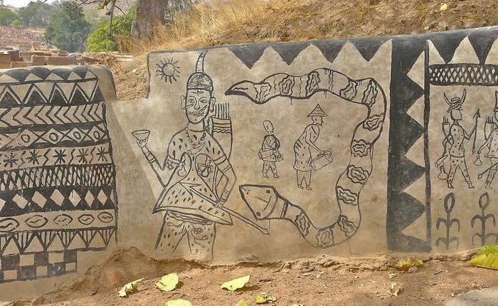 Тиебеле (Tiebele), Западная Африка