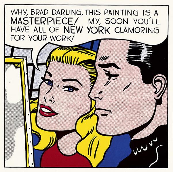 """Рой Лихтенштейн (Roy Lichtenstein) """"Masterpiece"""""""