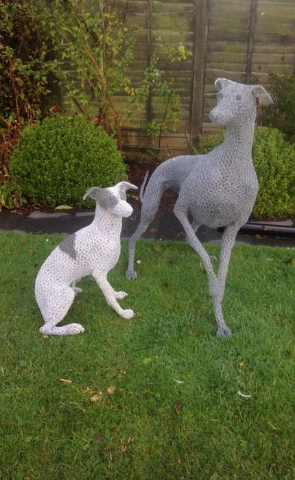 Шедевр садово-парковой скульптуры: работа Крис Мосс (Chris Moss)