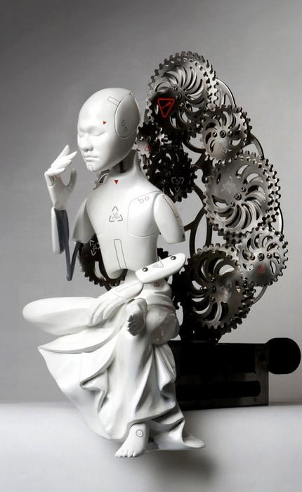 Механический бодхисатва Ванг Зи Вона (Wang Zi Won)