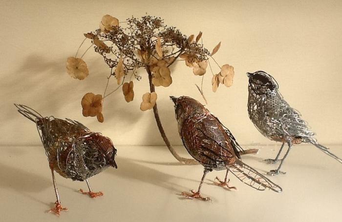 Камерная скульптура в исполнении Крис Мосс (Chris Moss)