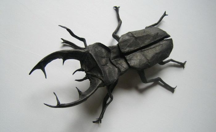 Удивительные примеры искусства оригами Брайана Чана (Brian Chan)