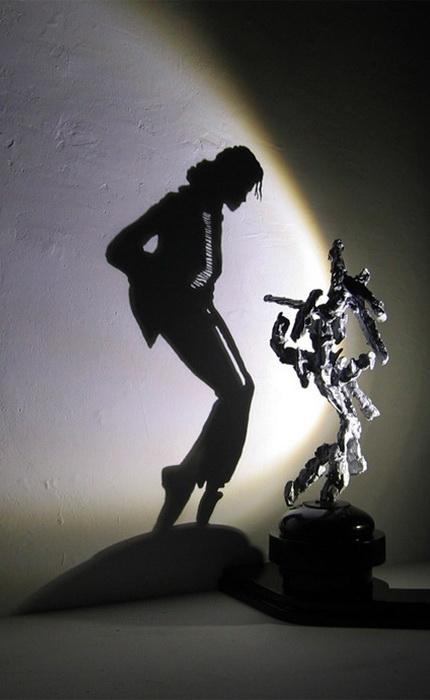 Удивительные скульптурные работы Дита Вигмана (Diet Wiegman). Майкл Джексон