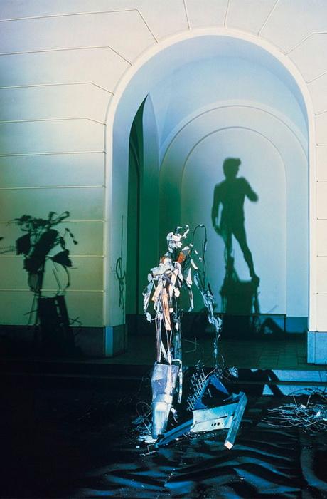 Удивительные скульптурные работы Дита Вигмана (Diet Wiegman). Давид