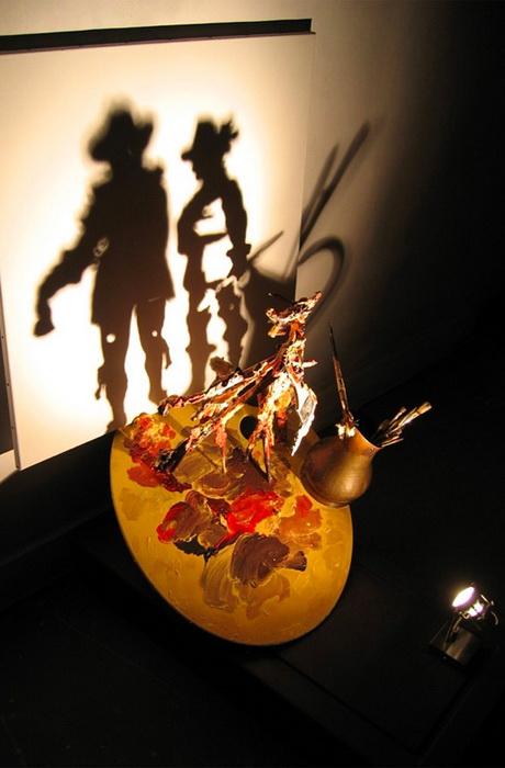 Удивительные скульптурные работы Дита Вигмана (Diet Wiegman). Сцена из картины Рембрандта