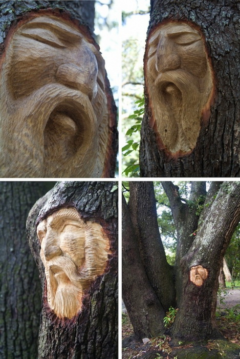 Проект Кита Дженнингса (Keith Jennings) «Tree Spirits»