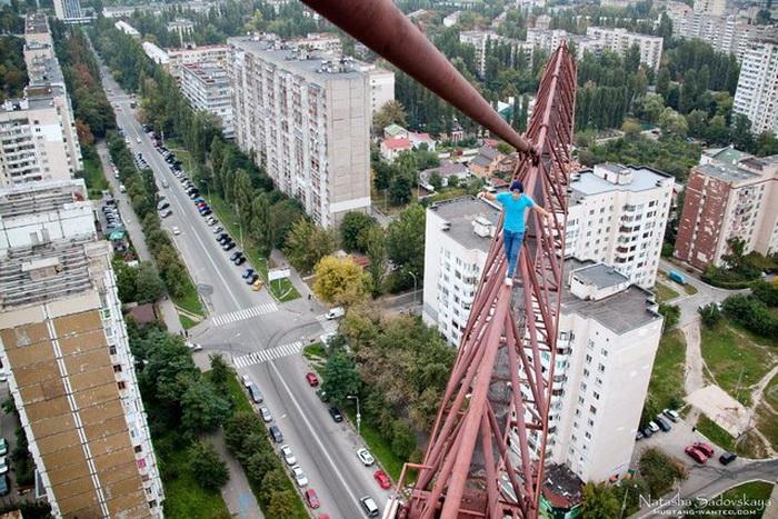 Опасное увлечение киевлянина Mustang Wanted