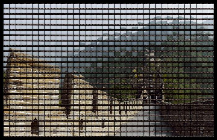 Фотографии архитектурных достопримечательностей Томаса Келлнера (Thomas Kellner). Великая Китайская стена