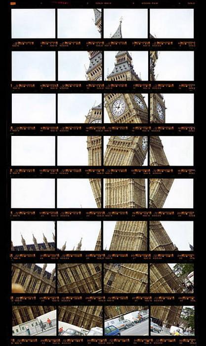 Фотографии архитектурных достопримечательностей Томаса Келлнера (Thomas Kellner). Биг-Бен