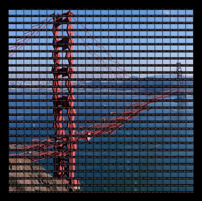 Фотографии архитектурных достопримечательностей Томаса Келлнера (Thomas Kellner). Мост ''Золотые ворота''