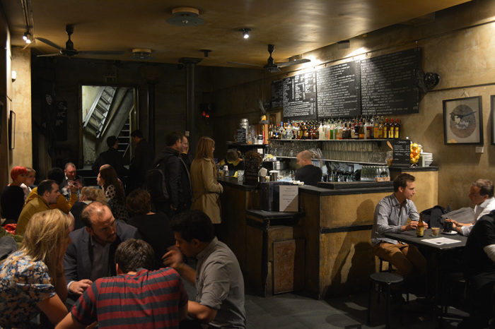 Вечер в  кафе-баре «Freud» станет отличным завершением дня.