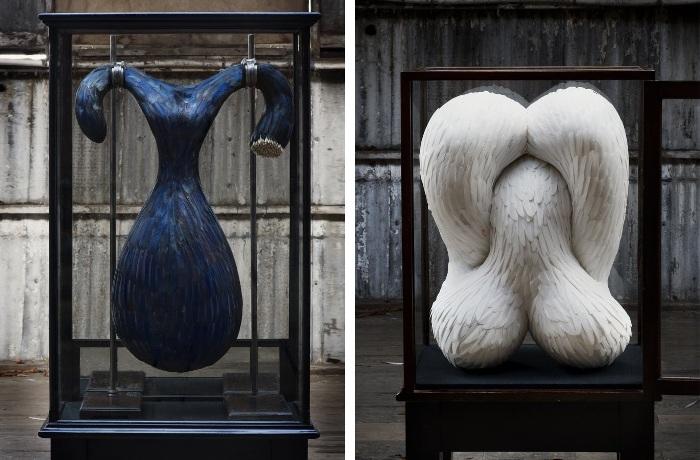 Скульптуры, что притягивают взгляд от Kate MccGuire