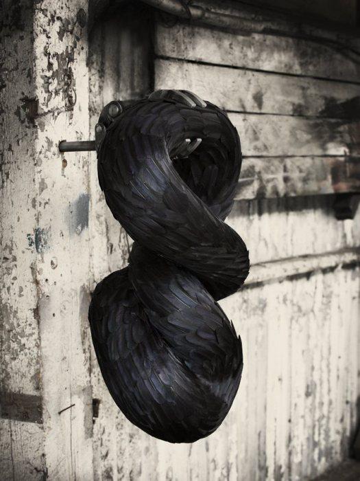 Вихрь, сделанный из вороньих перьев