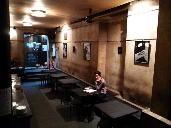 Кафе-баре «Freud»  очаровывает своей атмосферой.