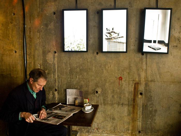 Необычный бар«Concrete» привлекает посетителей оригинальным дизайном.