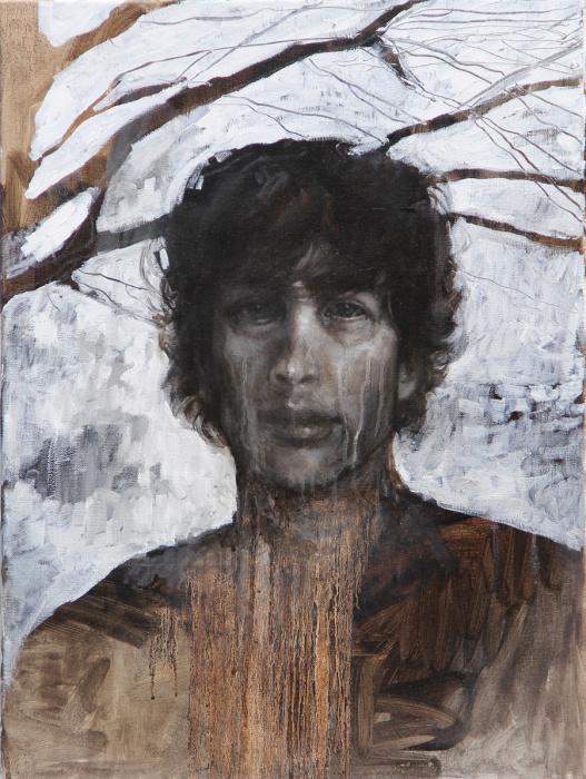 Портрет Нила Геймана.