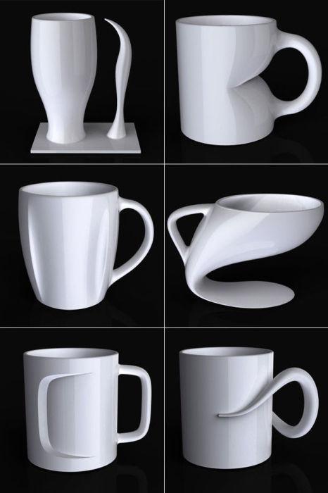 Кружка кофе как искусство.