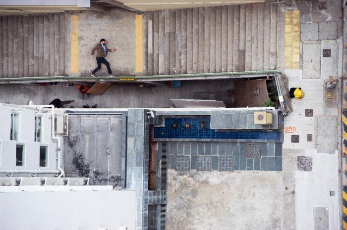 Двухмерное измерение на улицах Гонконга от Christian Аslund