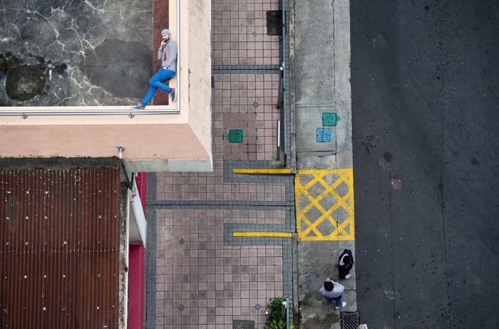 Улицы Гонконга на фотографиях Christian Аslund