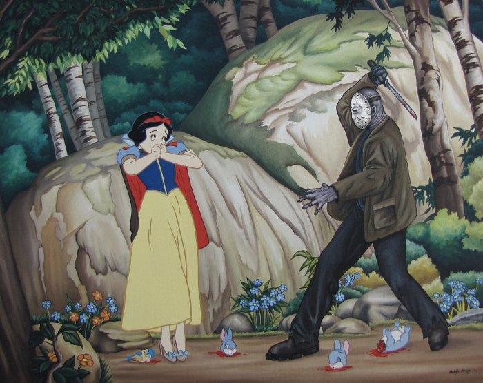 Неожиданная встреча в Зачарованном лесу.