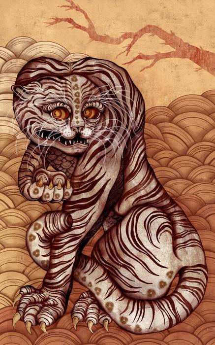 Тигр.