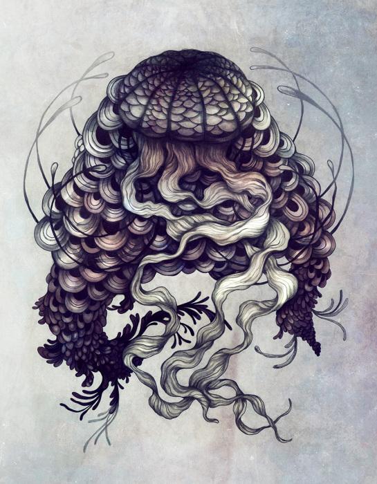 Mедуза.