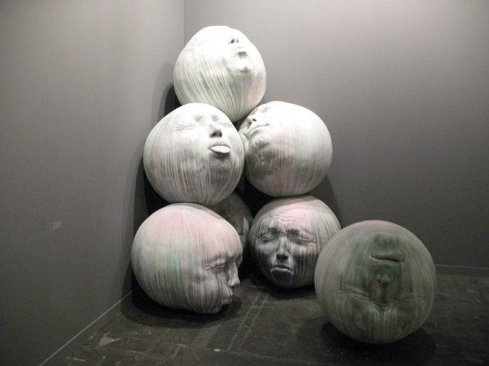 Жуткие головы от Samuel Salcedo