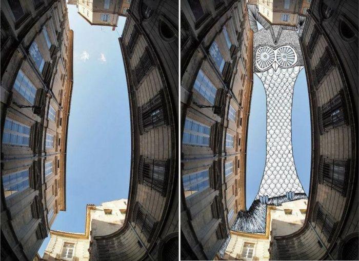 Небо как холст в работах Thomas Lamadieu